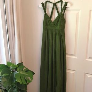 BCBG chiffon Bridesmaid Gown
